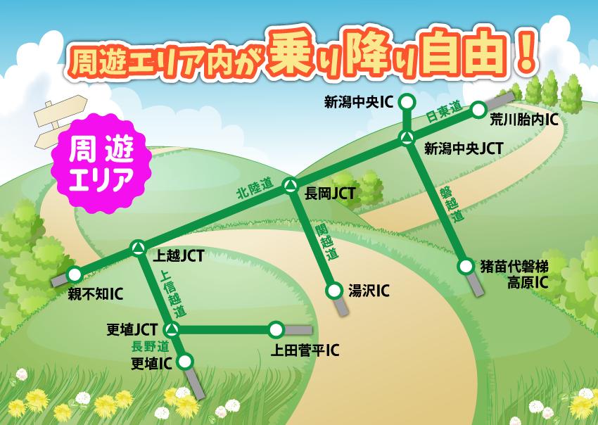 新潟 観光 ドライブ パス 新潟観光ドライブパス:ETC高速道路