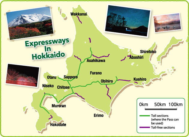 foreign visitors to japan only hokkaido expressway pass dorawari