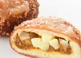 まんぷくカレーパン(蓮根チーズ)