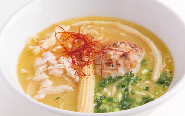 第1位「鶏白湯そば」のイメージ画像