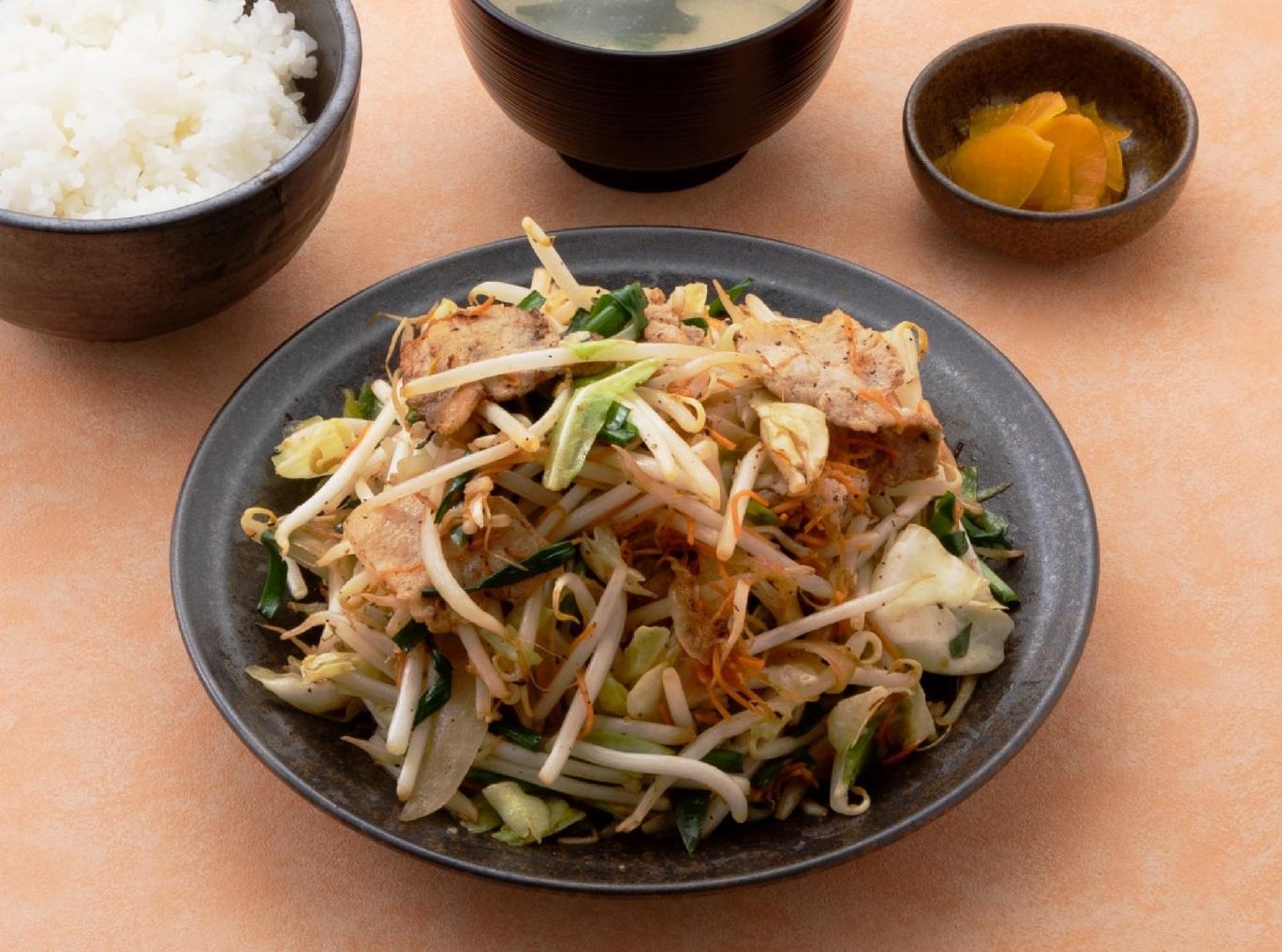 第3位「特製肉野菜炒め定食」のイメージ画像