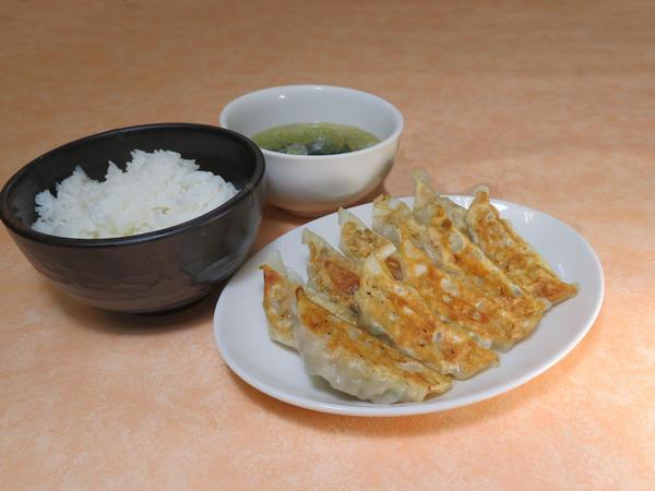 第1位「餃子定食」のイメージ画像