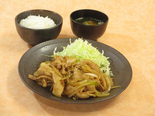 第1位「大盛生姜焼定食 (10:00 ~ 14:00)」のイメージ画像
