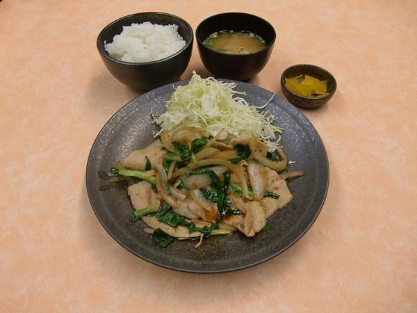 第1位「豚ニラ定食 (10:00 ~ 販売)」のイメージ画像