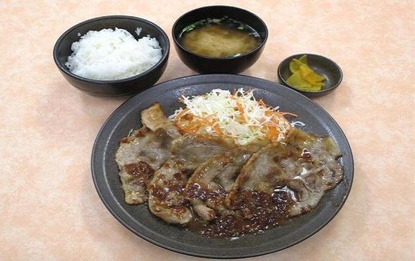 第1位「ヤシオポーク生姜焼き定食」のイメージ画像