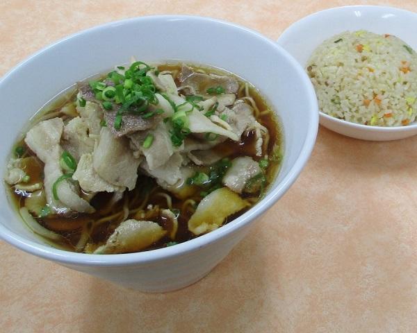 肉そばセット(ミニチャーハン)のイメージ画像