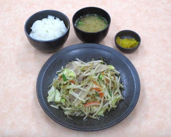 肉野菜炒め定食のイメージ画像