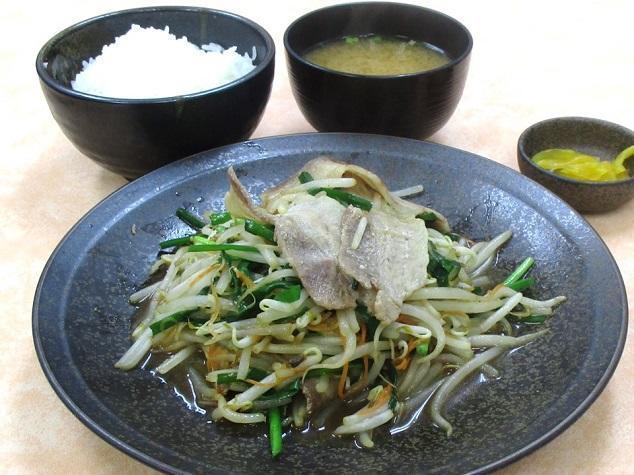 第1位「豚ニラ炒め定食」のイメージ画像
