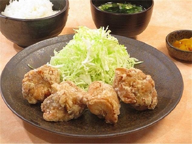 第3位「鶏唐揚定食4個」のイメージ画像
