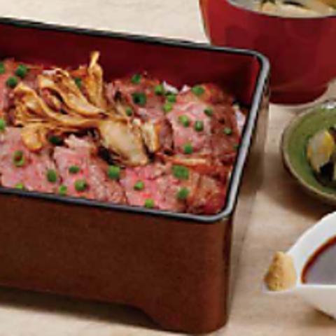 サーロインステーキ重のイメージ画像