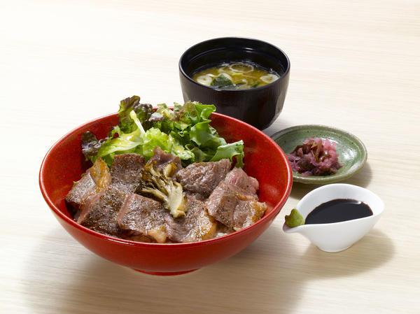 那須野ヶ原牛サーロインステーキ丼のイメージ画像