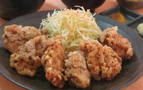 第1位「鶏唐揚定食【6個盛】」のイメージ画像