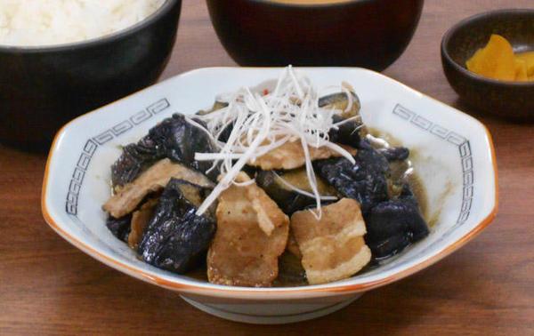 第3位「肉茄子炒め定食」のイメージ画像