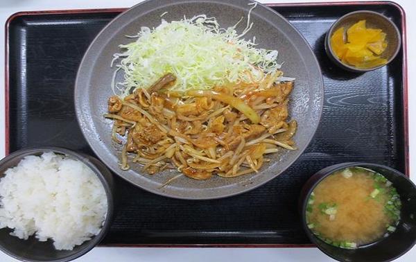 第1位「もつ炒め定食(辛味噌)」のイメージ画像