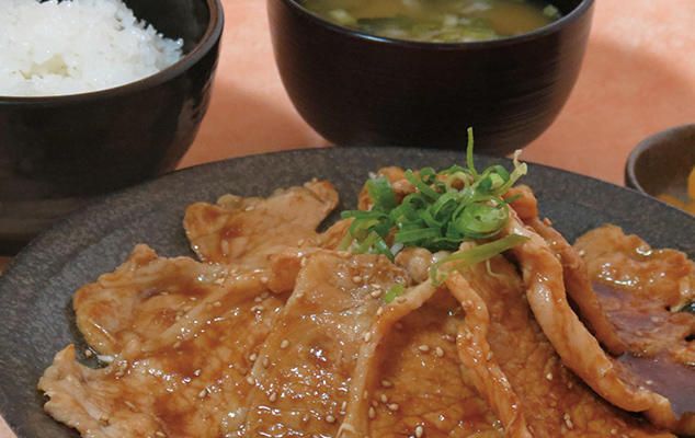 第3位「大盛生姜焼定食」のイメージ画像