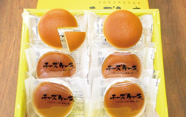 第3位「チーズケーキ6個入」のイメージ画像