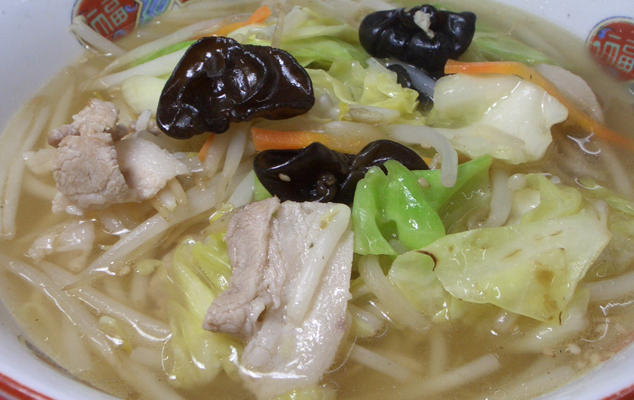 第2位「塩野菜ラーメン」のイメージ画像