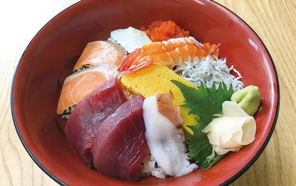 第1位「海仙道楽丼」のイメージ画像