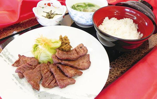 第1位「網焼き牛たん定食」のイメージ画像