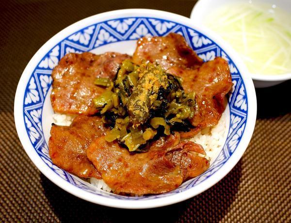 第1位「タン塩丼」のイメージ画像