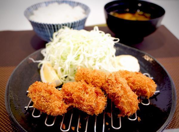<季節限定>カキフライ定食のイメージ画像