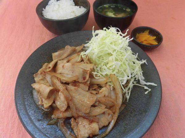 第2位「大盛生姜焼定食」のイメージ画像