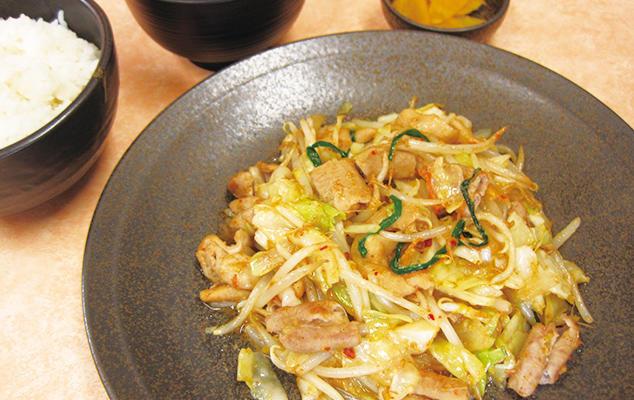 第1位「気仙沼ホルモン野菜炒め定食」のイメージ画像