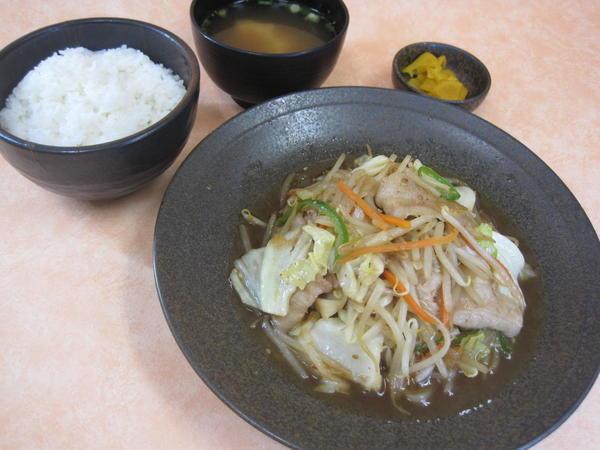 第1位「金成野菜炒め定食」のイメージ画像