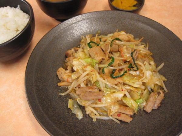 第2位「気仙沼ホルモン野菜炒め定食」のイメージ画像