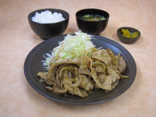 第3位「バラ大盛生姜焼定食」のイメージ画像