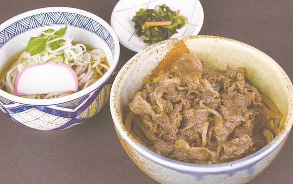第1位「前沢牛すき焼き丼小麺セット」のイメージ画像