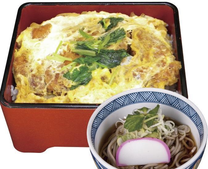 第2位「カツ重小麺セット」のイメージ画像
