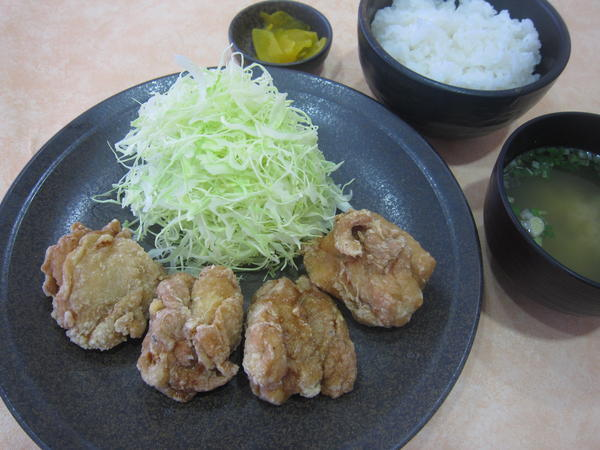 第2位「鶏唐揚定食」のイメージ画像