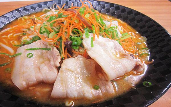 白ゆりポーク旨味噌野菜ラーメンのイメージ画像