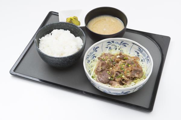 第2位「白金豚の生姜焼定食」のイメージ画像