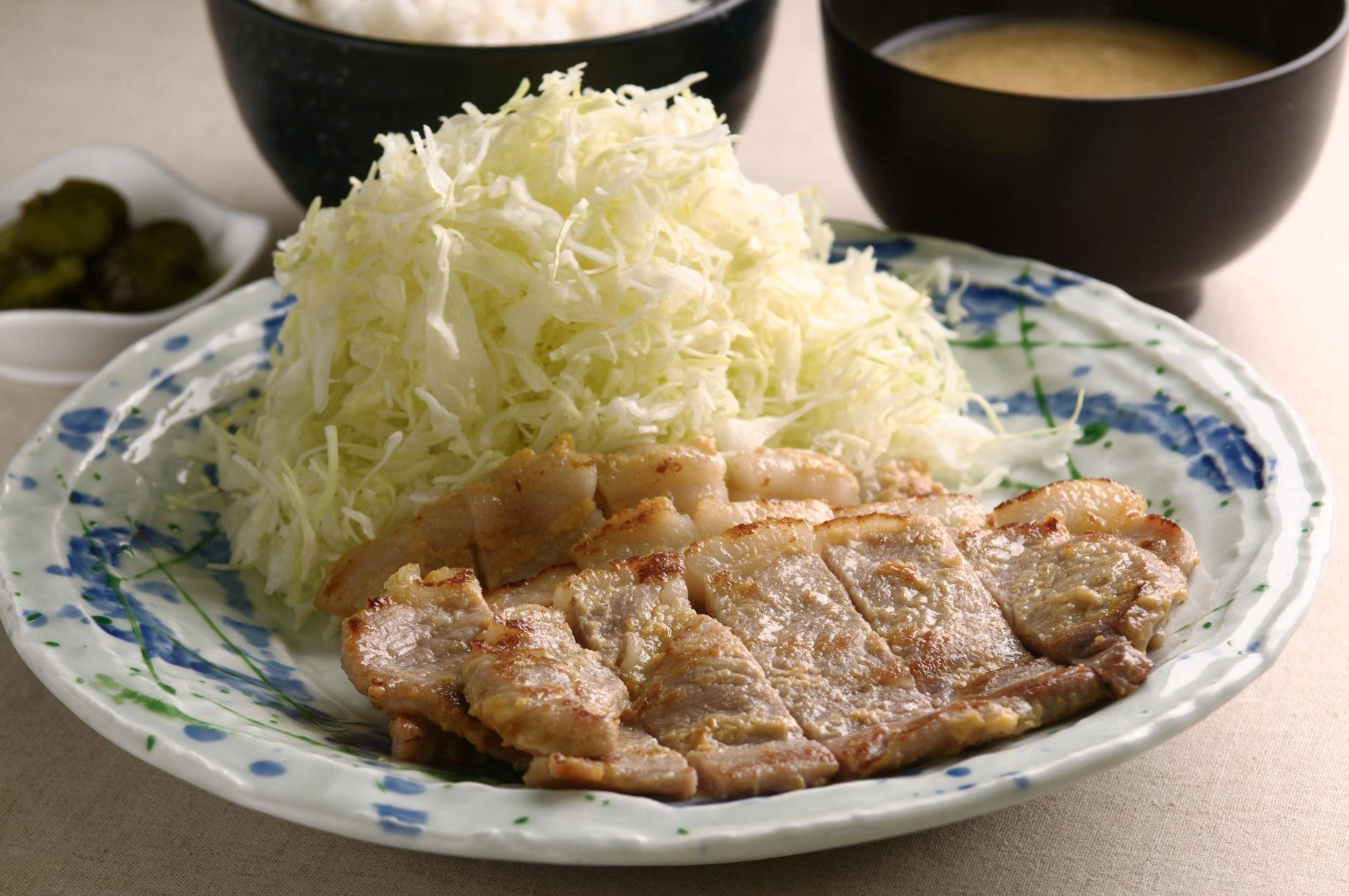 第3位「白金豚の味噌漬定食」のイメージ画像