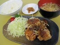 唐揚げ定食~油淋鶏ソースがけ~のイメージ画像