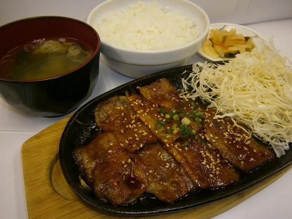 第3位「焼肉定食」のイメージ画像