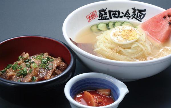 第2位「盛岡冷麺&カルビ丼(小)」のイメージ画像