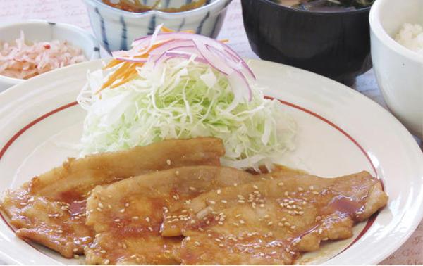 第3位「杜仲茶ポークの生姜焼定食」のイメージ画像