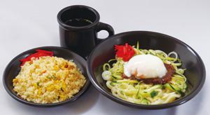 とろ玉じゃじゃ麺&ミニ炒飯セットのイメージ画像