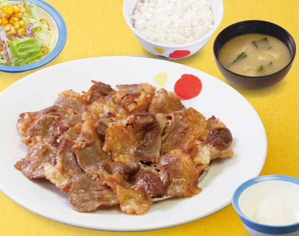 第2位「カルビ焼肉W定食」のイメージ画像