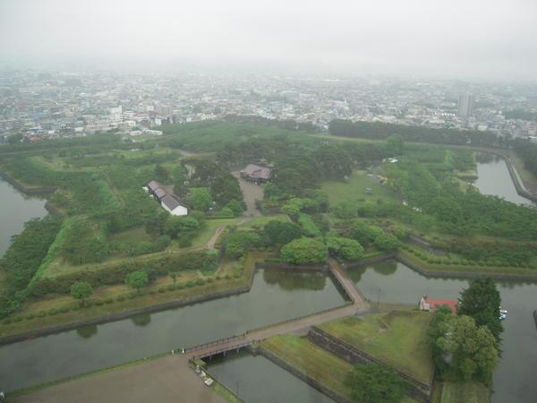 五稜郭タワー⑤展望フロアからの眺め.JPG
