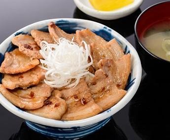 大雪さんろく笹豚丼のイメージ画像