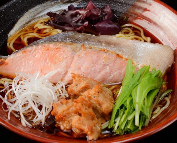 鮭醤油ラーメンのイメージ画像