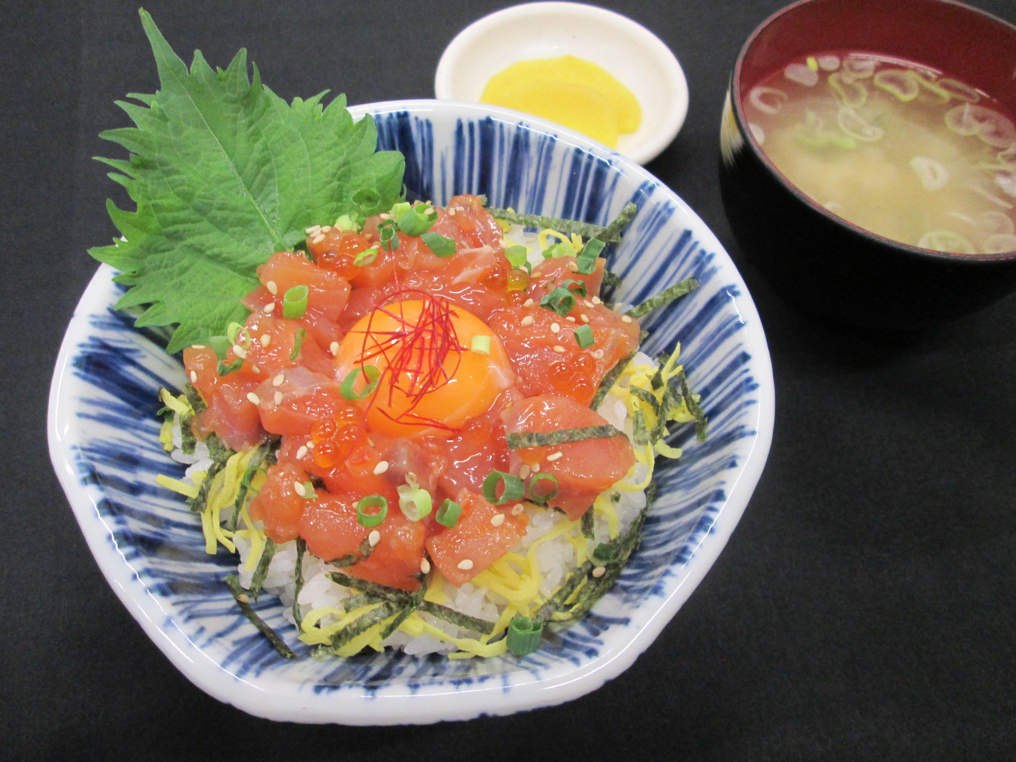 第1位「鮭ルイベ丼」のイメージ画像