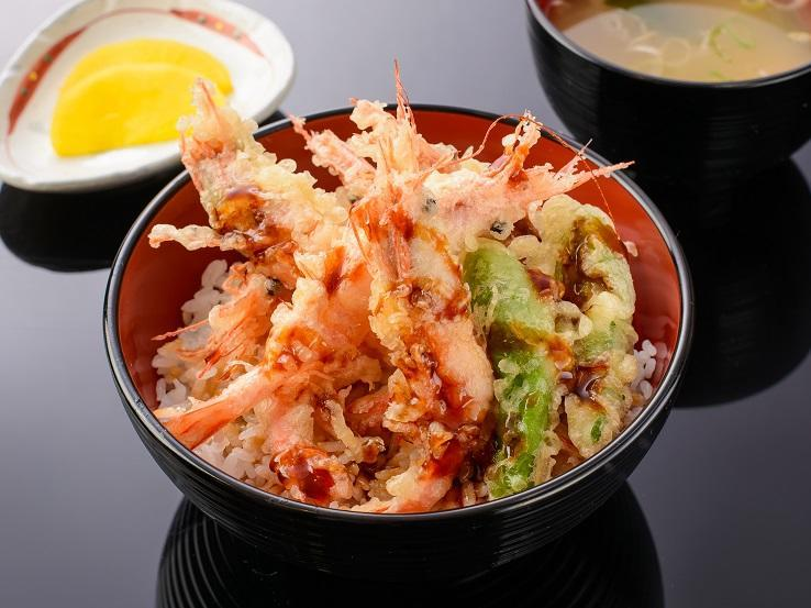 第2位「甘えび天丼」のイメージ画像