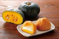 苫前町産かぼちゃのダブルシュークリームのイメージ画像