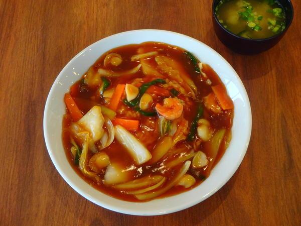 第1位「海鮮黒醤油あんかけ飯」のイメージ画像