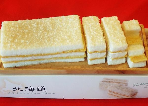 第3位「北海道ミルフィーユケーキ」のイメージ画像